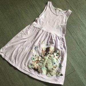 Girls H&M tank dress purple 6/8 Y